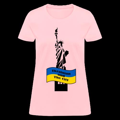 Ukrainian and The City - Women's T-Shirt