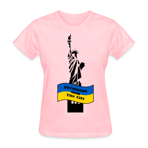 Ukrainian and The City - Women's T-Shirt