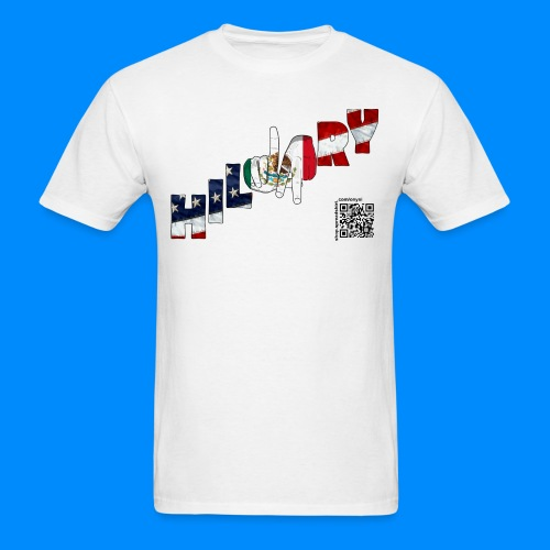 Mexican American Hillary Tee (men) - Men's T-Shirt
