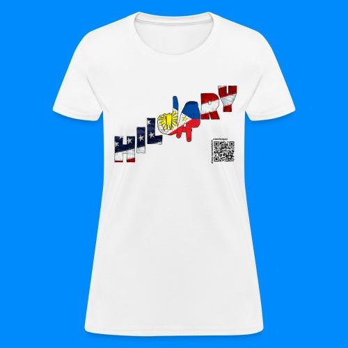 Filipino Americans Hillary Tee (women) - Women's T-Shirt
