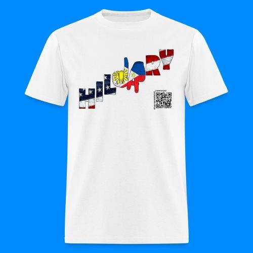 Filipino Americans Hillary Tee (women) - Men's T-Shirt