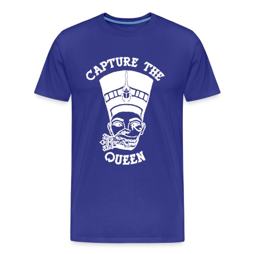 Capture the Queen (Welcome to the Movement) - Men's Premium T-Shirt