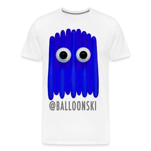 Balloonski Ghost/Blue - Men's Premium T-Shirt