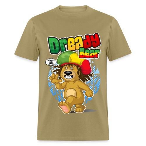 Dready Bear - Men's T-Shirt