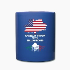 American grown with Italian roots [ver2] T Shirt Mugs & Drinkware
