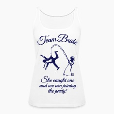 Team Bride Husband Fishing (Hen Party / 1C) Tanks