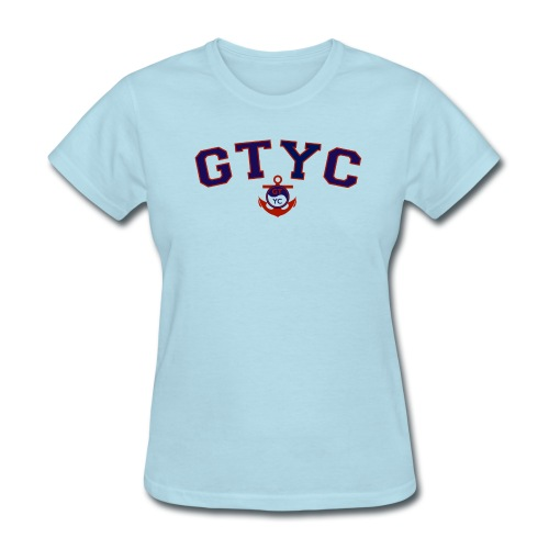 Women's Cut Two Color College T-Shirt  - Women's T-Shirt
