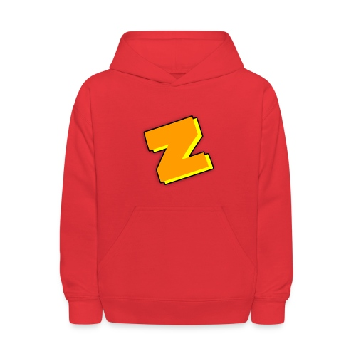 Zipomatic Hoodie (RED) - Kids' Hoodie