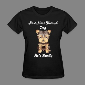 Women's Male Puppy T-Shirt - Women's T-Shirt