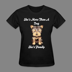 Women's Female Puppy T-Shirt - Women's T-Shirt