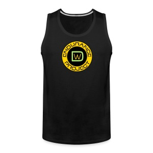 Men's DWEP Plain Black Tank Top - Men's Premium Tank