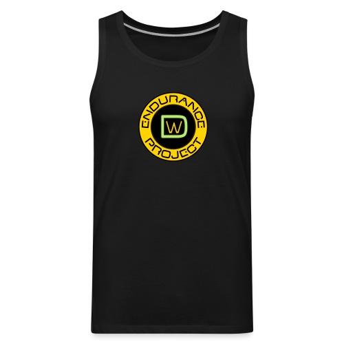 Men's DWEP Plain Black Tank Top - Men's Premium Tank