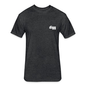 The Fitted Digg Tee - Fitted Cotton/Poly T-Shirt by Next Level