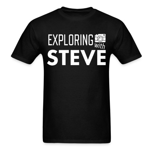 Exploring with Steve - Men's T-Shirt