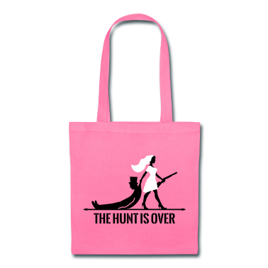 the hunt is over bachelorette bachelor party bride Bags ...