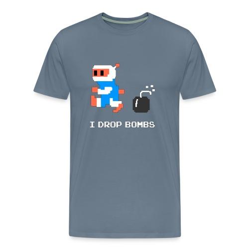 I Drop Bombs - Men's Premium T-Shirt