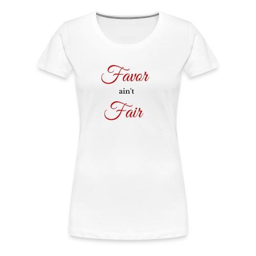 Favor - Red - Women's Premium T-Shirt