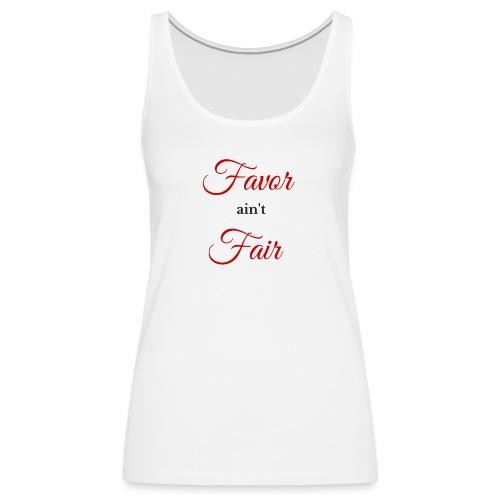 Favor - Red - Women's Premium Tank Top