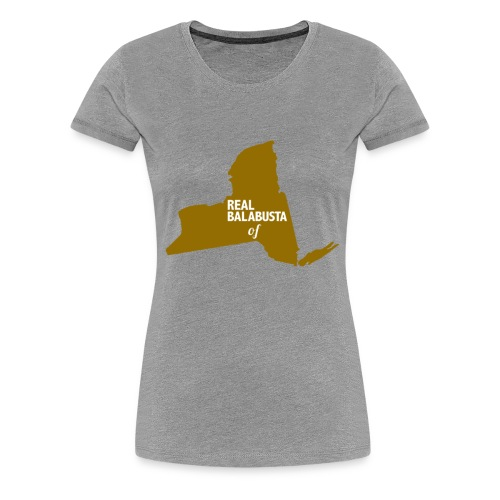 Real Balabusta of NY - Women's Premium T-Shirt