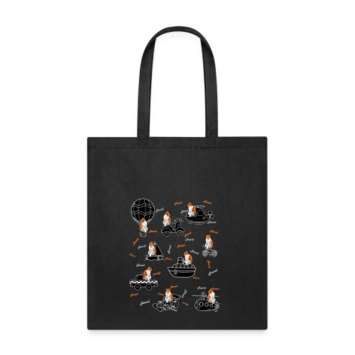 Travel cat Tote Bag. - Tote Bag