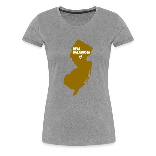 Real Balabusta of NJ - Women's Premium T-Shirt