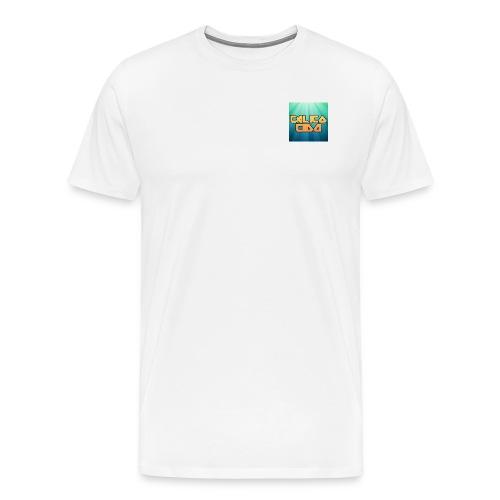 Basic CalicoCidd T-White - Men's Premium T-Shirt
