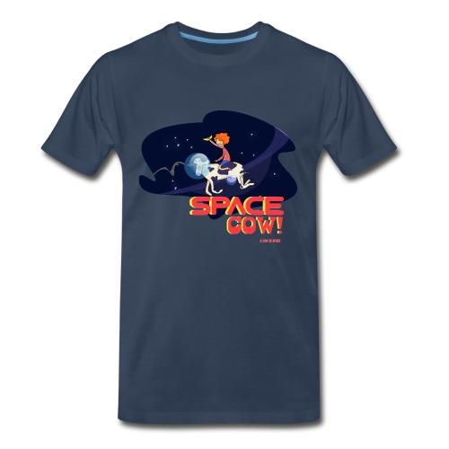 Space cow - Men's Premium T-Shirt