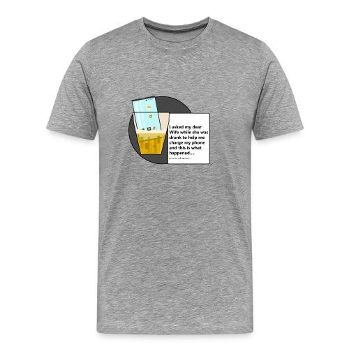 Drunklove - Men's Premium T-Shirt
