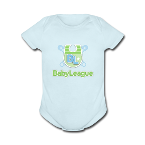 BabyLeague Baby   - Short Sleeve Baby Bodysuit