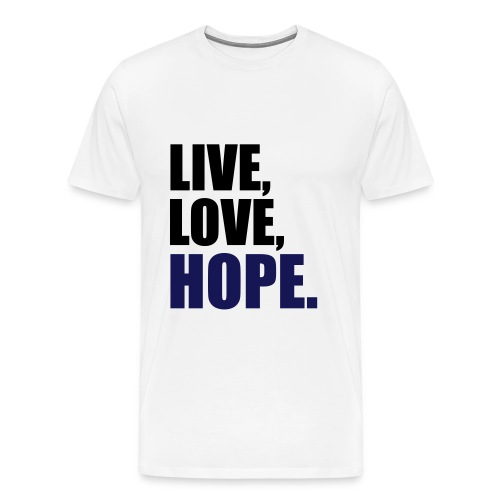 Live Love Hope - Men's Premium T-Shirt