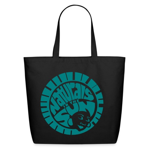 Classic NITS Tote  2  - Teal  - Eco-Friendly Cotton Tote