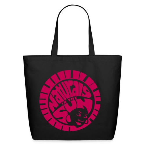 Classic NITS Tote  2   - Magenta - Eco-Friendly Cotton Tote