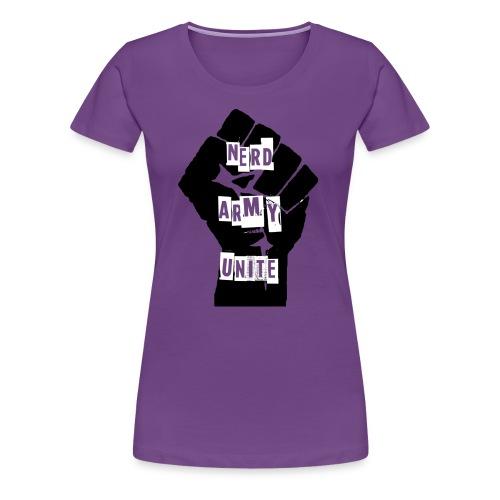 Nerd Army Women's T - Women's Premium T-Shirt
