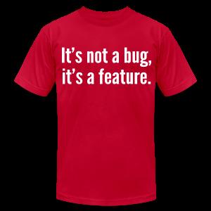 not a bug - Men's Fine Jersey T-Shirt