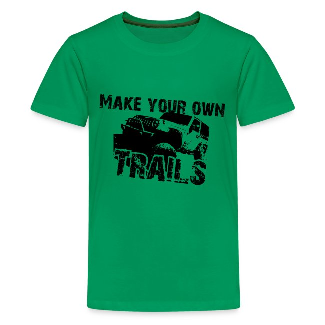 Kids Make Your Own Trails Shirt