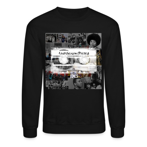 Coupeseason Poetry Men's Crewneck Sweatshirt - Crewneck Sweatshirt