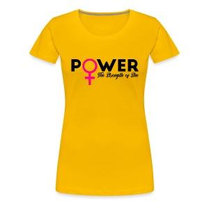 Girl Power Tee - Women's Premium T-Shirt