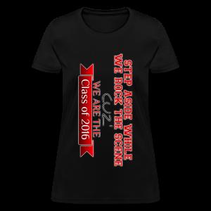 Class of 2016 T-Shirt (WOMEN) - Women's T-Shirt