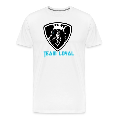 Team Loyal White - Men's Premium T-Shirt