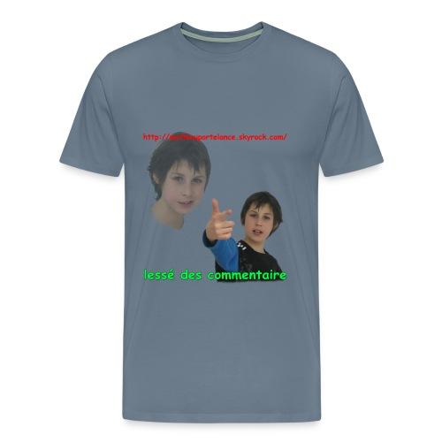laissé des commentaire - T-shirt premium pour hommes