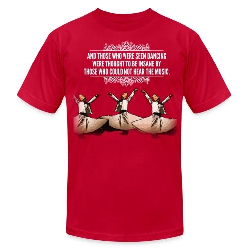 Nietzsche Dances - Men's Fine Jersey T-Shirt