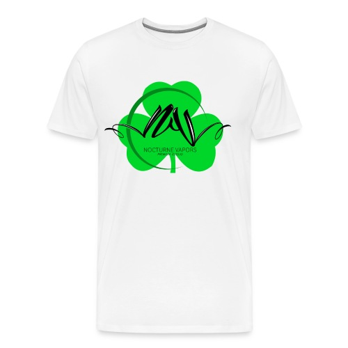 Nocturne Vapors Mens Shamrock - Men's Premium T-Shirt