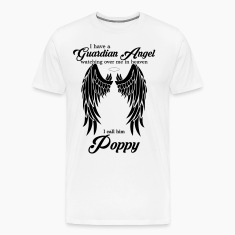 My Poppy Is My Guardian Angel she Watches Over My T-Shirts