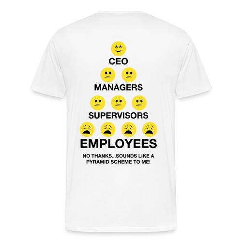 Pyramid Entrepreneur Mens - Men's Premium T-Shirt