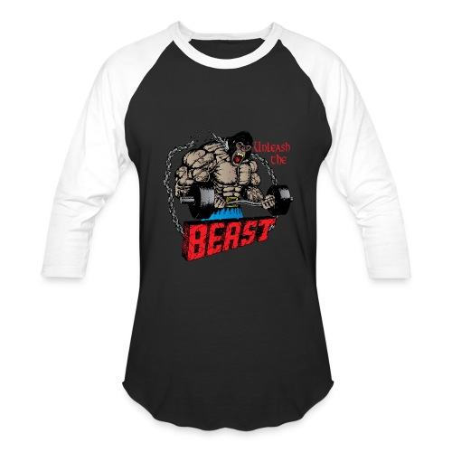 Beast  - Baseball T-Shirt