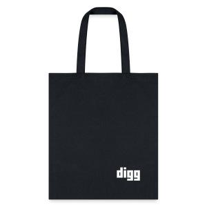 The Digg Tote (Small) - Tote Bag