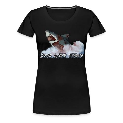 Dead Water Studios | Undead Shark Attack Logo (Women's T-shirt) - Women's Premium T-Shirt