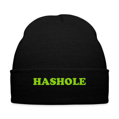 Hashhole 1 - Knit Cap with Cuff Print