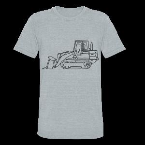 Bulldozer - Unisex Tri-Blend T-Shirt