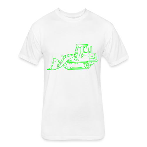 Bulldozer - Fitted Cotton/Poly T-Shirt by Next Level